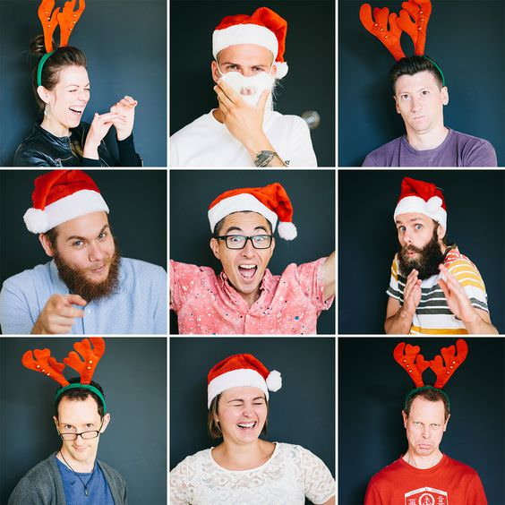 Ideas For (FUN!) Office Holiday Cards » Custom Video